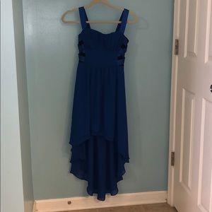 BeBe high low bustier dress